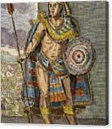 Montezuma II (1480?-1520) Canvas Print