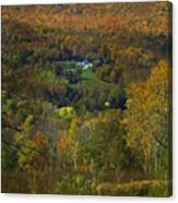Montgomery Hillside Of Color Canvas Print