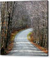 Montgomery Mountain Road Canvas Print