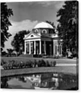 Monticello, Home Of Thomas Jefferson Canvas Print