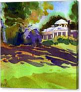 Monticello In October Canvas Print