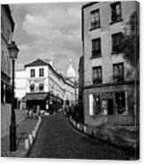Montmarteparis France Canvas Print