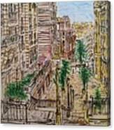 Montmarter   Canvas Print