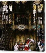 Montmartre Carousel Canvas Print