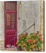 Montmartre Doorway Canvas Print
