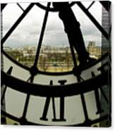 Montmartre From Musee D'orsay Canvas Print