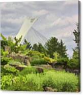 Montreal Biodome Backdrop Canvas Print