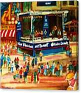 Montreal Jazz Festival Canvas Print