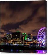 Montreal Observation Wheel Canvas Print