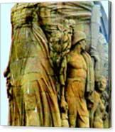 Monument Aux Morts 7 Canvas Print