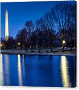 Monument In Blue Canvas Print