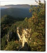 Monument Mountain Devils Pulpit Overlook Canvas Print