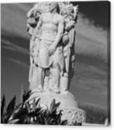 Monument Of Man Canvas Print
