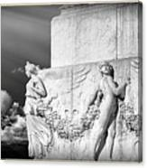 Monument Particular In Rome Canvas Print