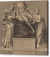 Monument To William Shakespeare Canvas Print