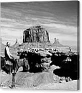 Monument Valley: Butte Canvas Print