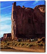 Monument Valley Corral Canvas Print