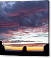 Monument Valley Morning #1 Canvas Print