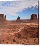 Monument Valley-one Canvas Print