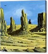 Monument Valley Spider Mesa Canvas Print