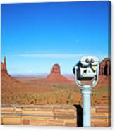 Monument Valley, Usa Canvas Print