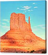 Monument Valley Wide View Canvas Print