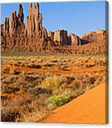 Monument Valley,arizona Canvas Print
