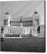 Monumental Architecture In Rome Canvas Print