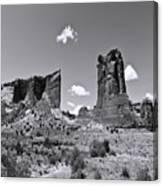 Monumentvalley 45 Canvas Print