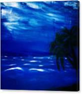 Moods Of The Sea Romantic Canvas Print