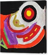 Moody Art Student Canvas Print