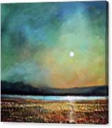 Moody Light Canvas Print