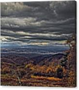 Moody Mountain View Canvas Print