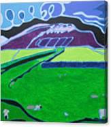 Moody Peny Canvas Print