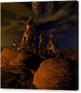 Moon Chorus Canvas Print
