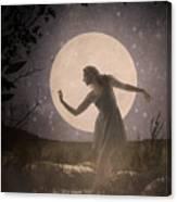 Moon Dance 001 Canvas Print