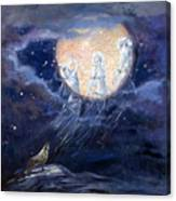 Moon Dance Canvas Print