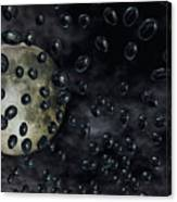 Moon Drops Canvas Print