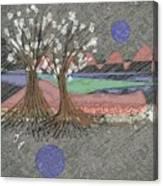 Moon Dusk Canvas Print