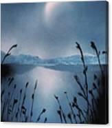 Moon Fog Canvas Print