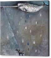 Moon Swing Canvas Print