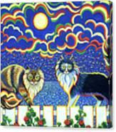 Moon Light Tango Canvas Print