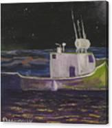 Moon Lit Night Canvas Print