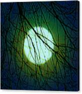 Moon Of The Werewolf Canvas Print
