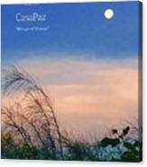 Moon Over Casapaz Canvas Print