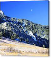 Moon Over Chautauqua Canvas Print