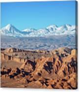 Moon Valley Atacama Desert Canvas Print