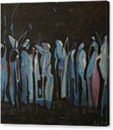Moon Watchers Canvas Print