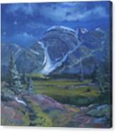 Moondance Meadows Canvas Print