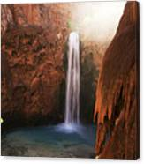 Mooney Falls Grand Canyon 1 Canvas Print